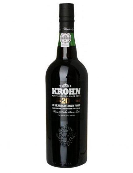 A Bottle of Krohn Tawny 20 Years Port