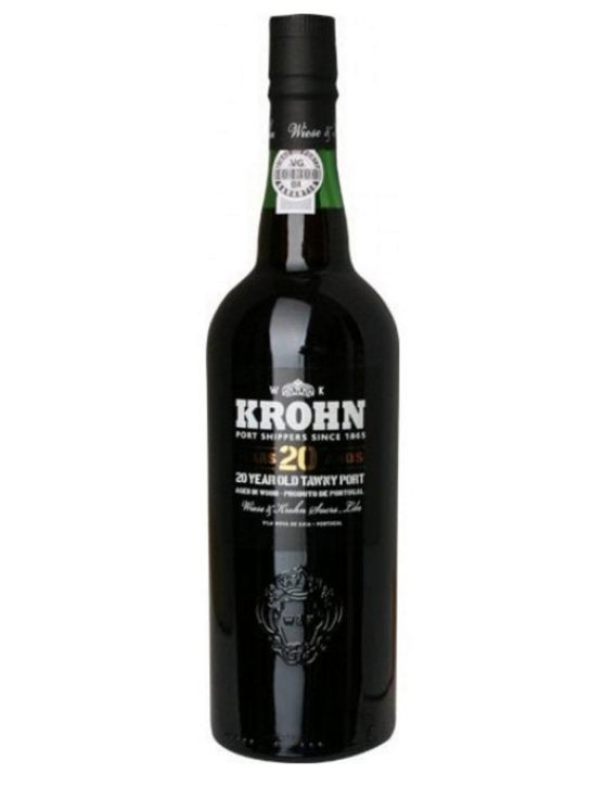 A Bottle of Krohn Tawny 20 Years Port