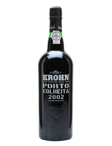 A Bottle of Krohn Harvest 2002 Port