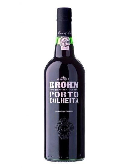 A Bottle of Krohn Harvest 2006 Port