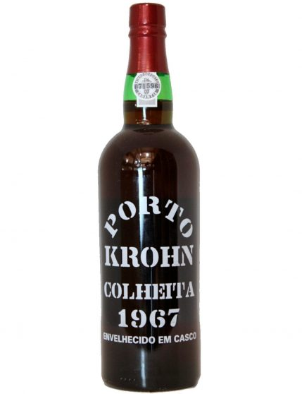 A Bottle of Krohn Harvest 1967
