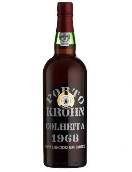 Une bouteille de Krohn Récolte 1968 Porto