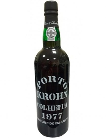 A Bottle of Krohn Harvest 1977