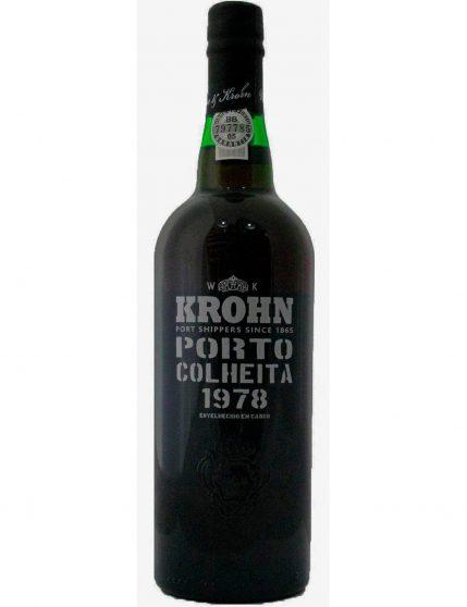 A Bottle of Krohn Harvest 1978