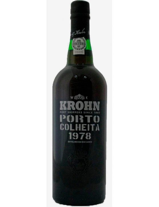 A Bottle of Krohn Harvest 1978