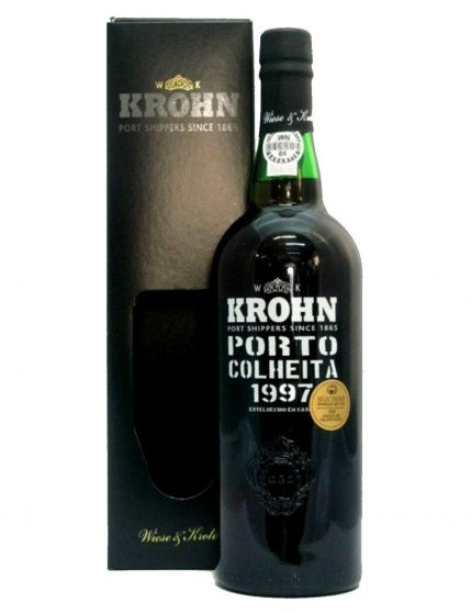 A Bottle of Krohn Harvest 1997 Port