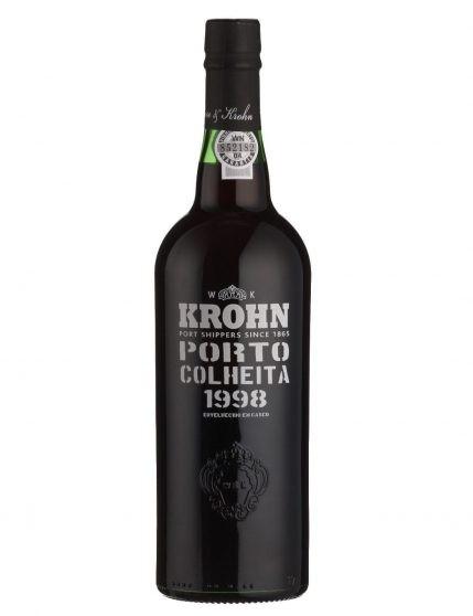 A Bottle of Krohn Harvest 1998 Port