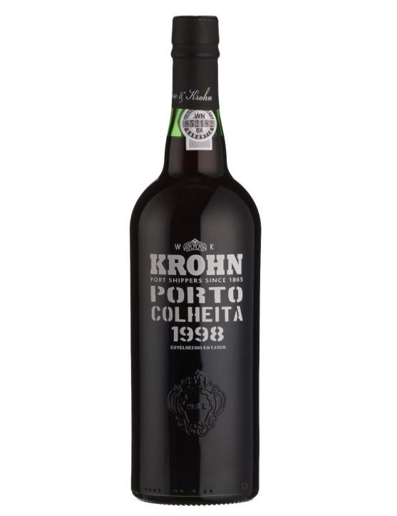 A Bottle of Krohn Harvest 1998 Port