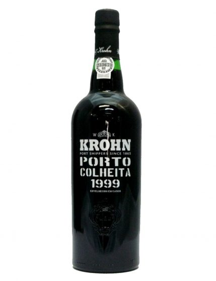 A Bottle of Krohn Harvest 1999 Port