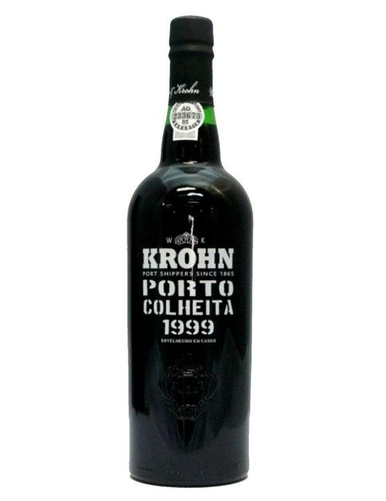Une bouteille de Krohn Récolte 1999 Porto