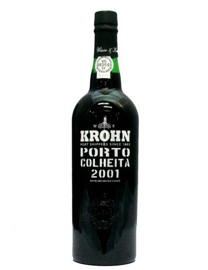 A Bottle of Krohn Harvest 2001Port