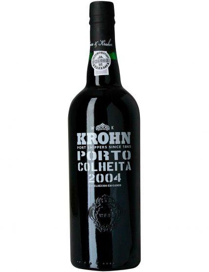 Une bouteille de Krohn Récolte 2004