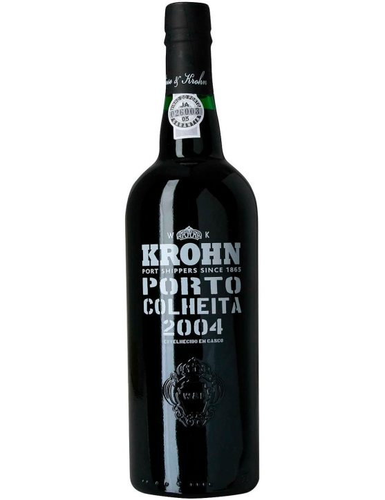A Bottle of Krohn Harvest 2004