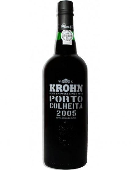 A Bottle of Krohn Harvest 2005