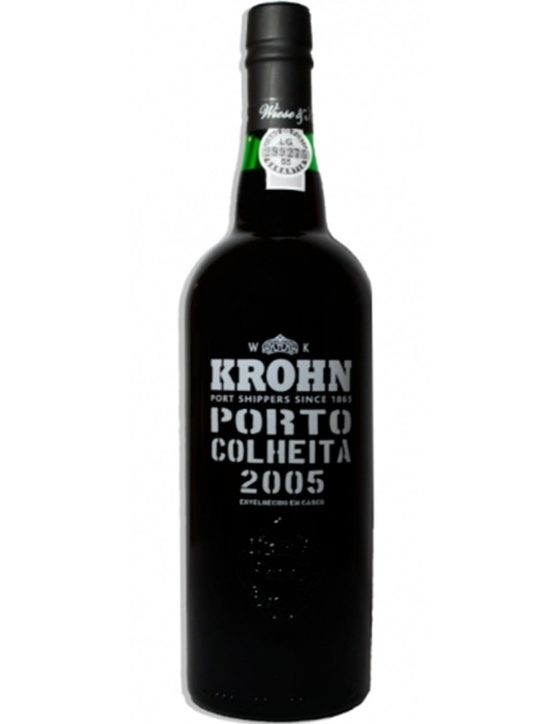 A Bottle of Krohn Harvest 2005