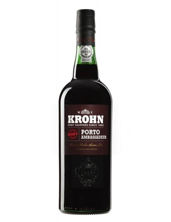 A Bottle of Krohn Ruby Port