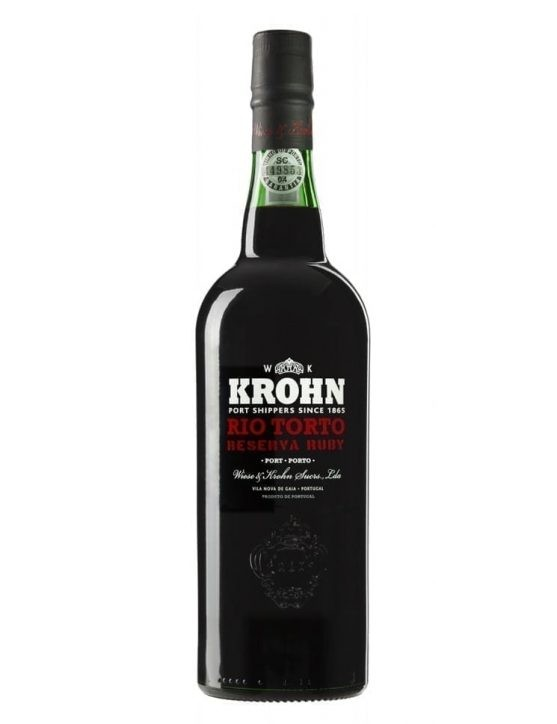 A Bottle of Krohn Rio Torto Ruby Reserve