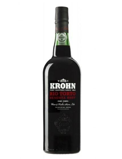 A Bottle of Krohn Tawny Port