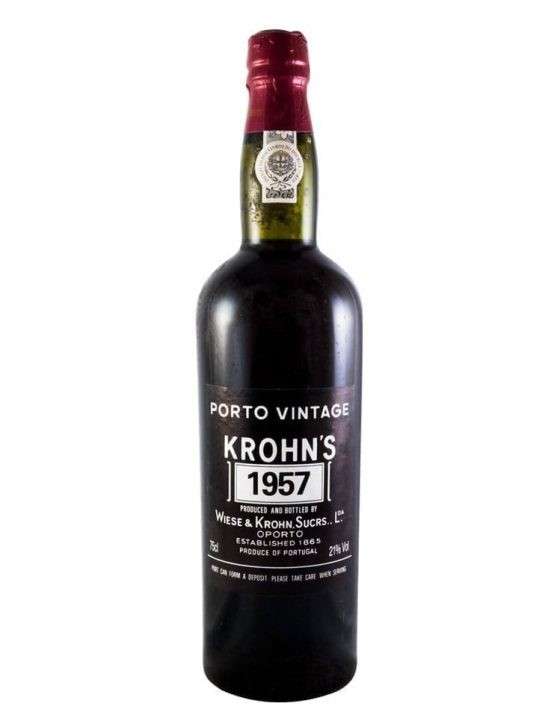 A Bottle of Krohn Vintage 1957
