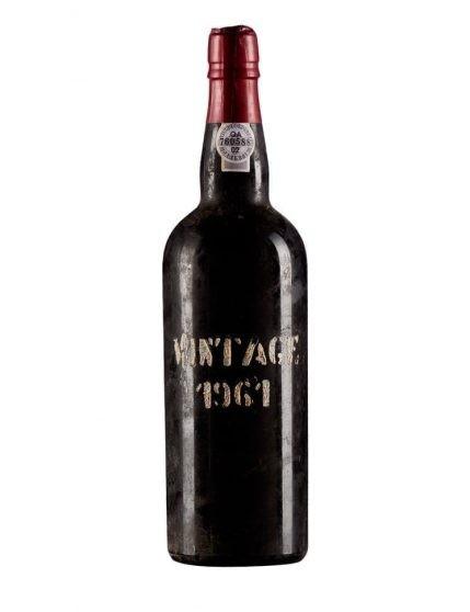 Une bouteille de Krohn Vintage 1961 Porto