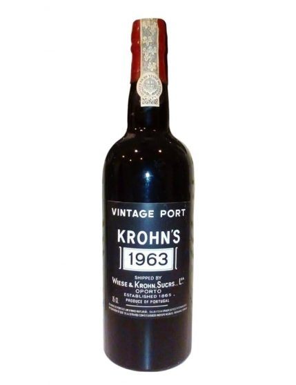 A Bottle of Krohn Vintage 1963