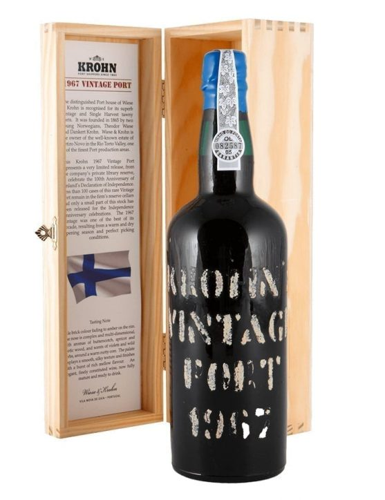 A Bottle of Krohn Vintage 1967