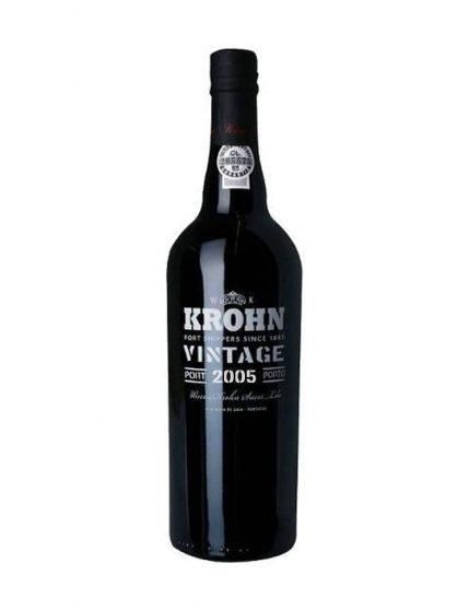 A Bottle of Krohn Vintage 2005