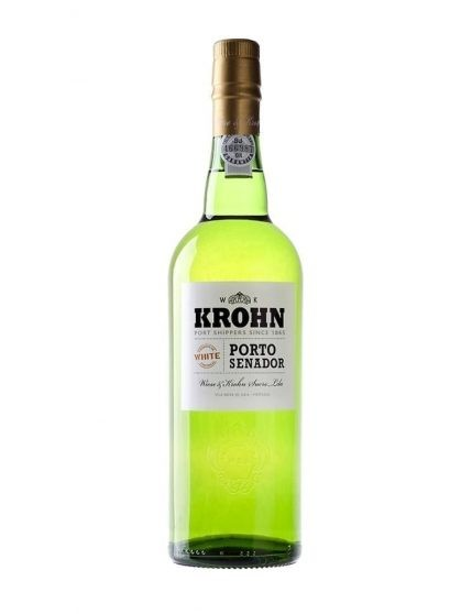 A Bottle of Krohn White Port