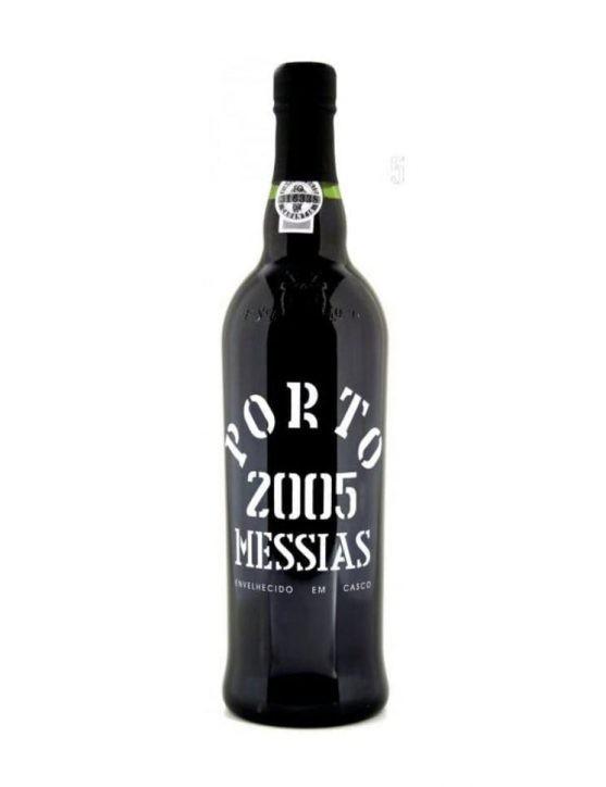 Une bouteille de Messias Récolte 2005