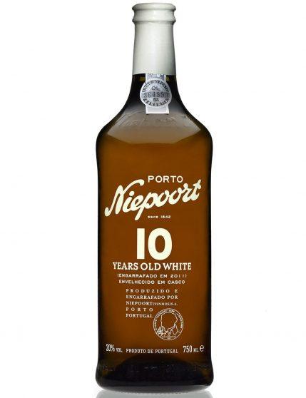 Une bouteille de Niepoort 10 Ans Blanc