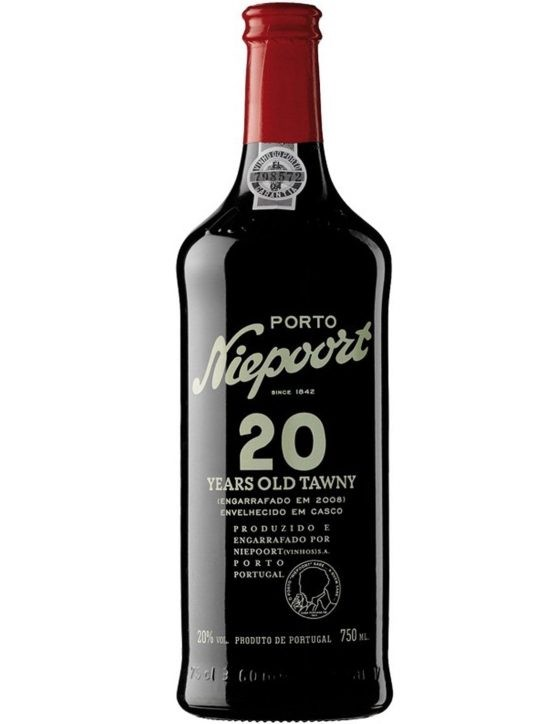 A Bottle of Niepoort Tawny 20 Years Port Wine
