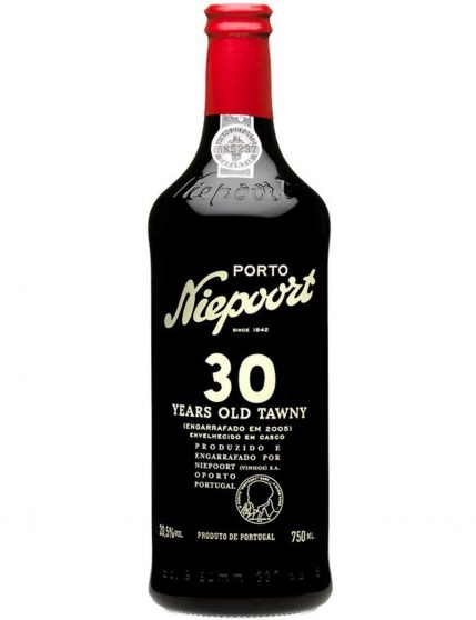 A Bottle of Niepoort 30 Years Tawny Port Wine