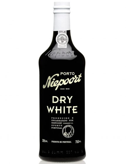 A Bottle of Niepoort Dry White Port Wine