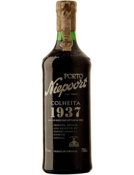 A Bottle of Niepoort Harvest 1937 Port Wine