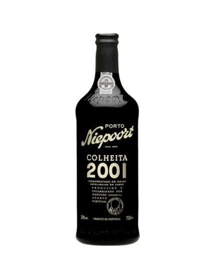 A Bottle of Niepoort Harvest 2001 37.5cl Port Wine
