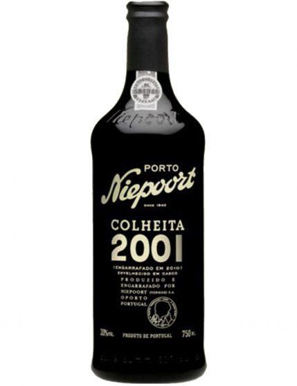 A Bottle of Niepoort Harvest 2001 Port Wine