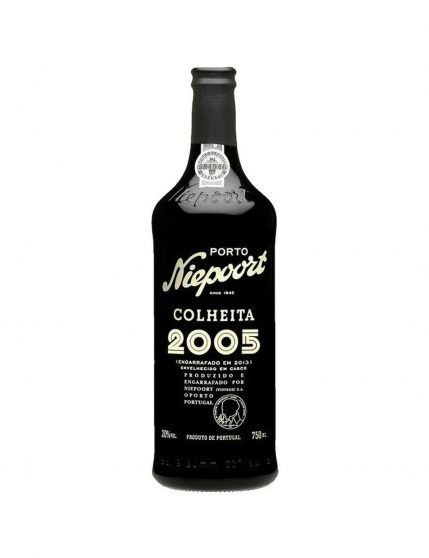 A Bottle of Niepoort Vintage 2005 37.5cl Port Wine