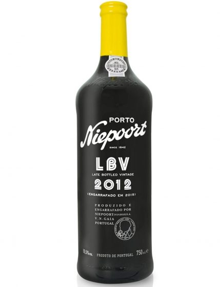A Bottle of Niepoort LBV