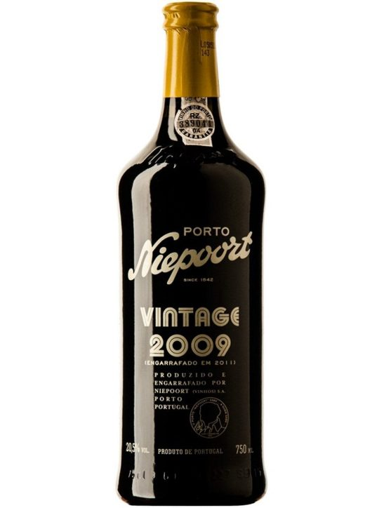 A Bottle of Niepoort Vintage 2009 Port Wine