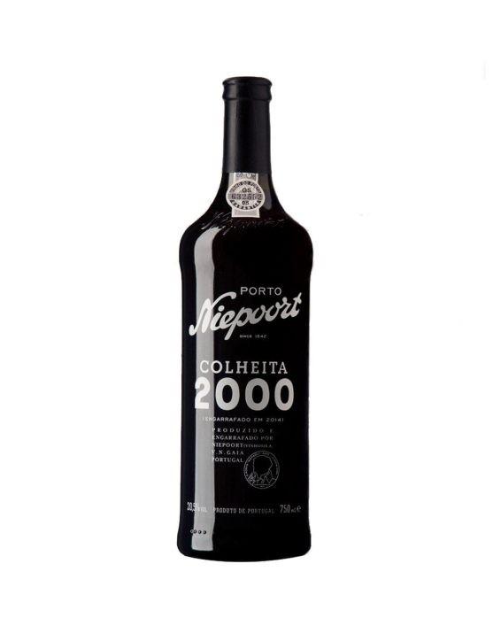 Uma Garrafa de Niepoort Porto Colheita 2000 37.5cl