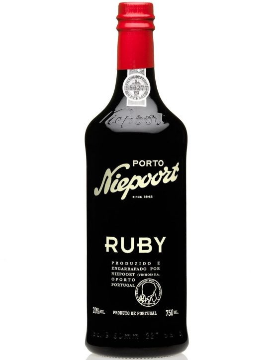 A Bottle of Niepoort Ruby Port Wine