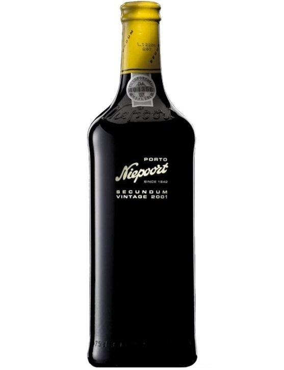 A Bottle of Niepoort Secundum Vintage 2001