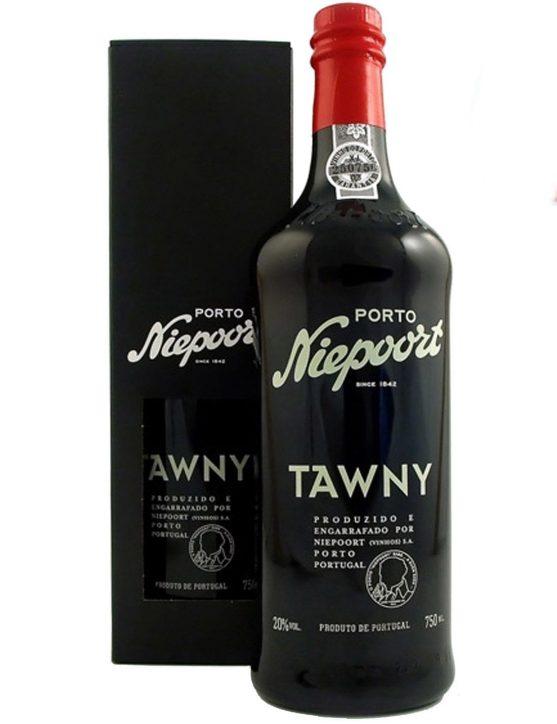 Une bouteille de Niepoort Tawny Porto