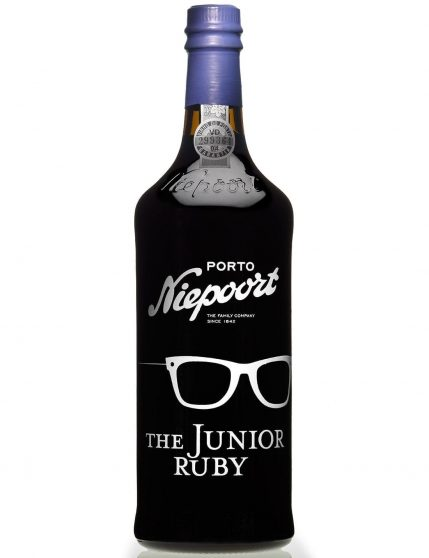 A Bottle of Niepoort The Júnior Ruby Port Wine