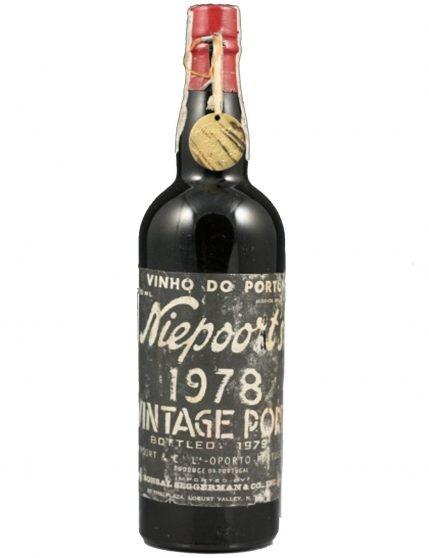 A Bottle of Niepoort Vintage 1978 Port Wine