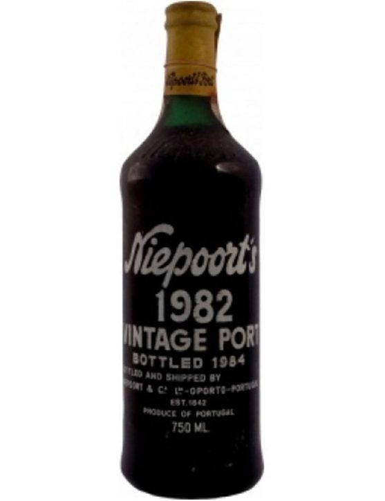 A Bottle of Niepoort Vintage 1982 Port Wine