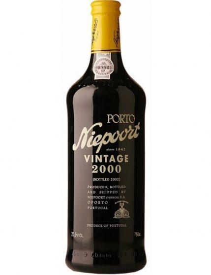 A Bottle of Niepoort Vintage 2000 Port Wine