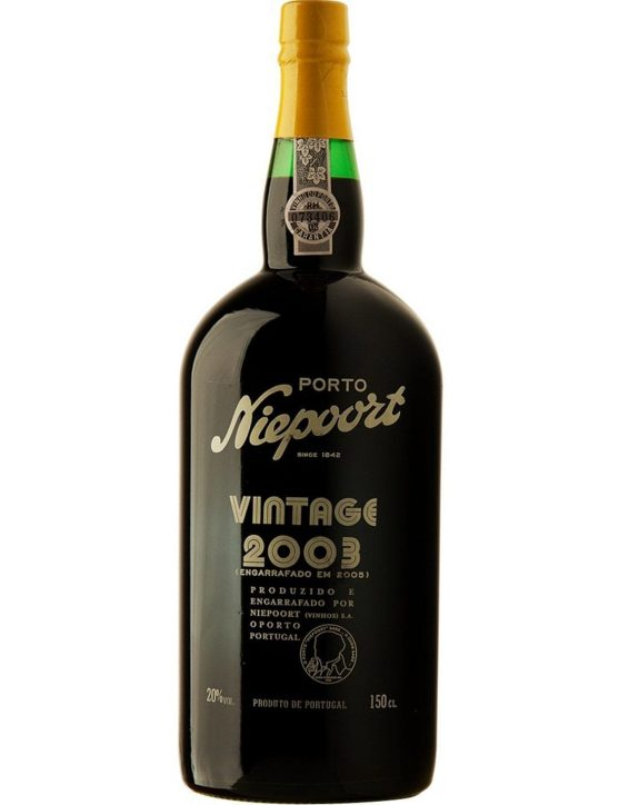 A Bottle of Niepoort Vintage 2003 1.5l Port Wine
