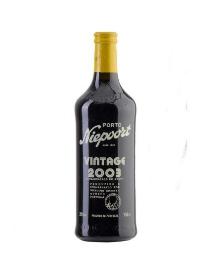 A Bottle of Niepoort Vintage 2003 37.5 CL