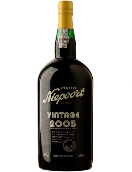 A Bottle of Niepoort Vintage 2005 1.5l Port Wine